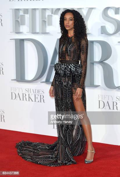 Corinne Bailey Rae attends the 'Fifty Shades Darker' UK Premiere on February 9 2017 in London United Kingdom