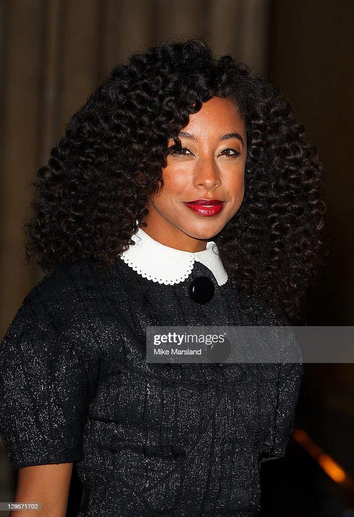 Corinne Bailey Rae attends the Louis Vuitton Art Talk with Grayson Perry at the British Museum on October 18 2011 in London England