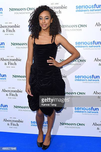 Corinne Bailey Rae attends the SeriousFun Children's Network London Gala at The Roundhouse on November 3 2015 in London England