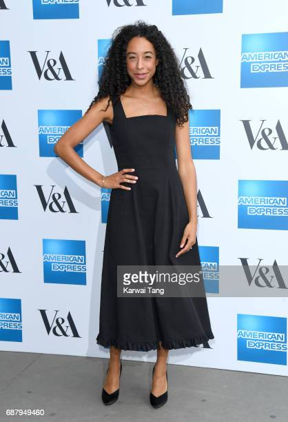 Corinne Bailey Rae attends the Spring 2017 Fashion Exhibition Balenciaga Shaping Fashion at The VA Museum on May 24 2017 in London England