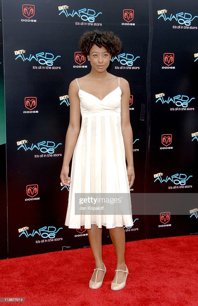Corinne Bailey Rae during 2006 BET Awards - Arrivals at The Shrine in Los Angeles, California, United States.