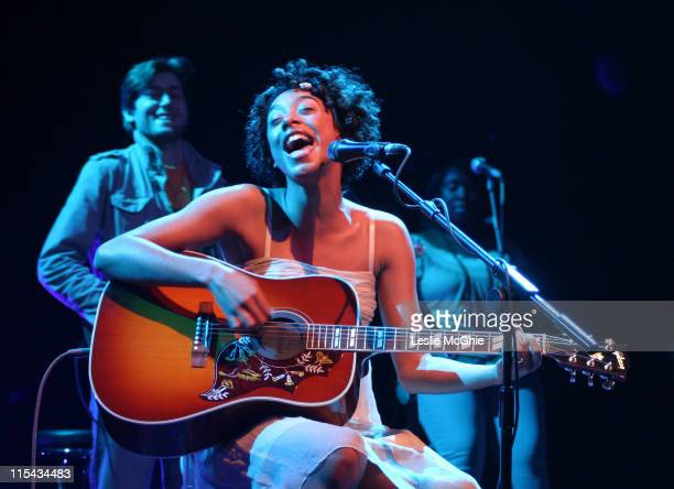 Corinne Bailey Rae during Corinne Bailey Rae in Concert at Shepherd's Bush Empire in London April 4 2006 at Shepherd's Bush Empire in London Great...