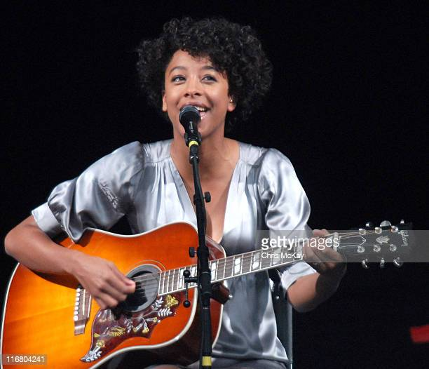 Corinne Bailey Rae during Corinne Bailey Rae Performs at Chastain Park Amphitheatre in Atlanta May 4 2007 at Chastain Park Amphitheatre in Atlanta...