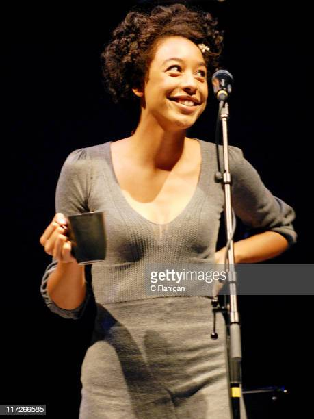 Corinne Bailey Rae during John Legend in Concert with Corinne Bailey Rae at the Greek Theatre in Berkeley April 7 2007 at Greek Theatre in Berkeley...