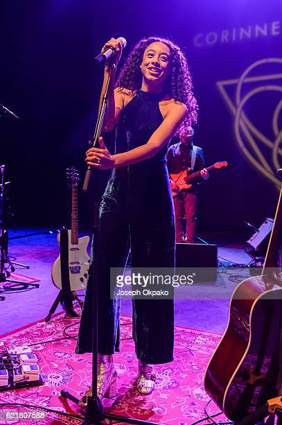 Corinne Bailey Rae performs at Shephards Bush Empire on November 8 2016 in London England