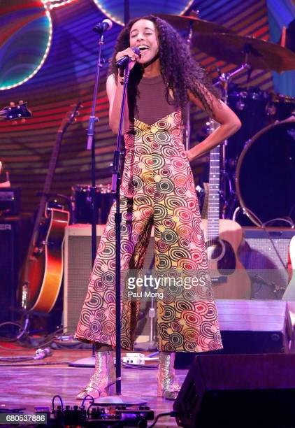 Corinne Bailey Rae performs at the 2017 Kennedy Center Spring Gala Come Together A Celebration of John Lennon at John F Kennedy Center for the...