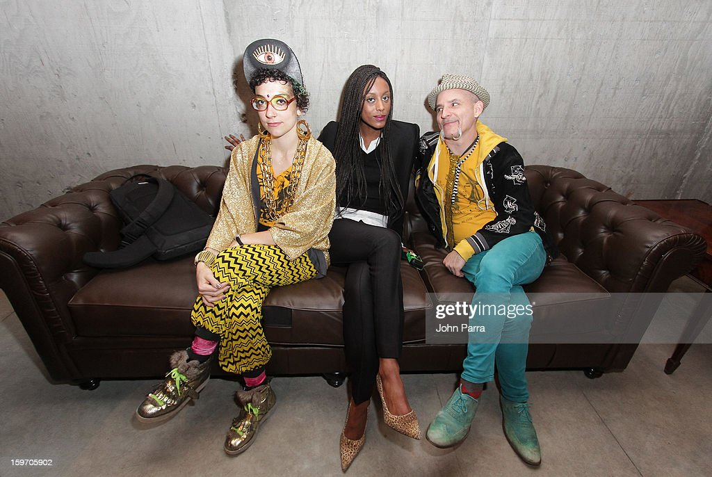 Corinne Loperfido, Brooke De Dard Smith and Rusty Laser attend the Nokia Music, SPIN, Sundance Channel and SomeSuch & Co Present New American Noise on January 18, 2013 in Park City, Utah.