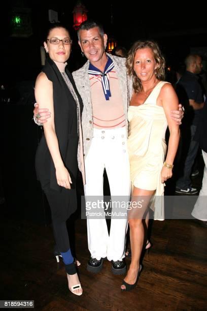 Corinne Maglione Randy Fotia and Sandrine Briere attend PASSION STYLE PR Fashion Event at La Vie Lounge on June 17 2010 in New York City