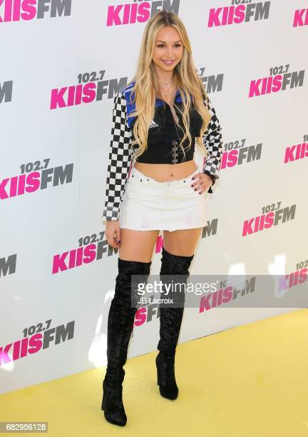 Corinne Olympios attends the 1027 KIIS FM's 2017 Wango Tango on May 13 2017 in Carson California
