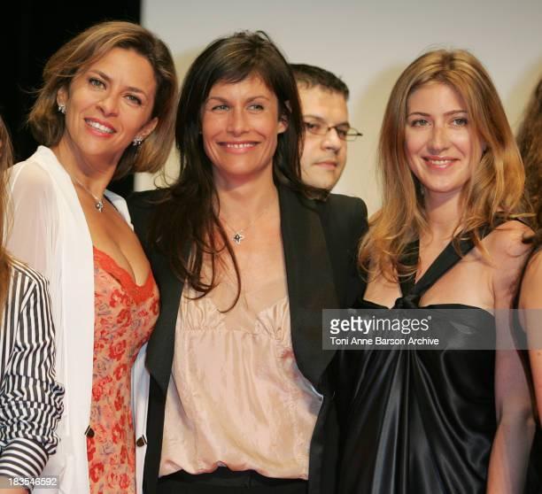 Corinne Touzet and Astrid Veillon during 2007 International Forum of Cinema Literature Closing Ceremony at Grimaldi Forum in Monte Carlo Monaco