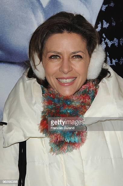 Corinne Touzet attends 'From Paris With Love' Paris Premiere at Cinema UGC Normandie on February 11 2010 in Paris France