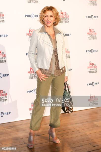 Corinne Touzet attends the 23rd Prix Du Producteur Francais De Television at the Trianon on March 13 2017 in Paris France