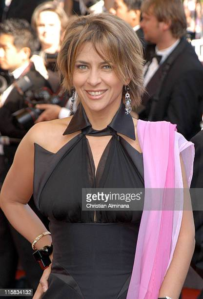 Corinne Touzet during 2005 Cannes Film Festival 'The Three Burials of Melquiades Estrada' Premiere in Cannes France
