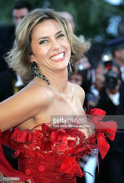 Corinne Touzet during 2006 Cannes Film Festival 'Volver' Premiere at Palais Du Festival in Cannes France
