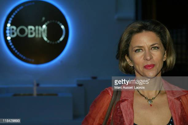 Corinne Touzet during Unveiling of the New Theatre Bobino in Paris at Theatre Bobino in Paris France