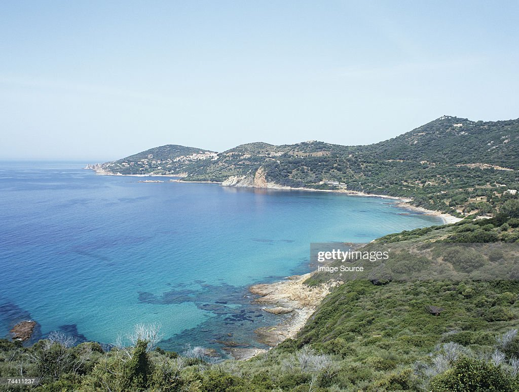 Coriscan coastline