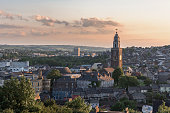 Cork City, Ireland at Sunset.