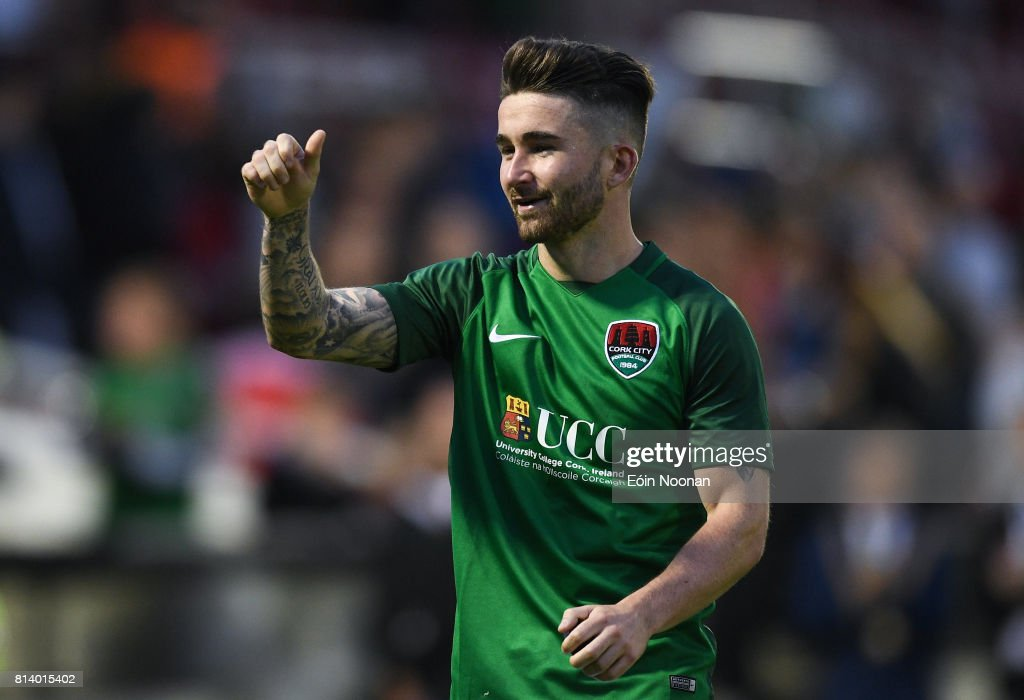 Cork City v  AEK Larnaca - UEFA Europa League Second Qualifying Round first leg