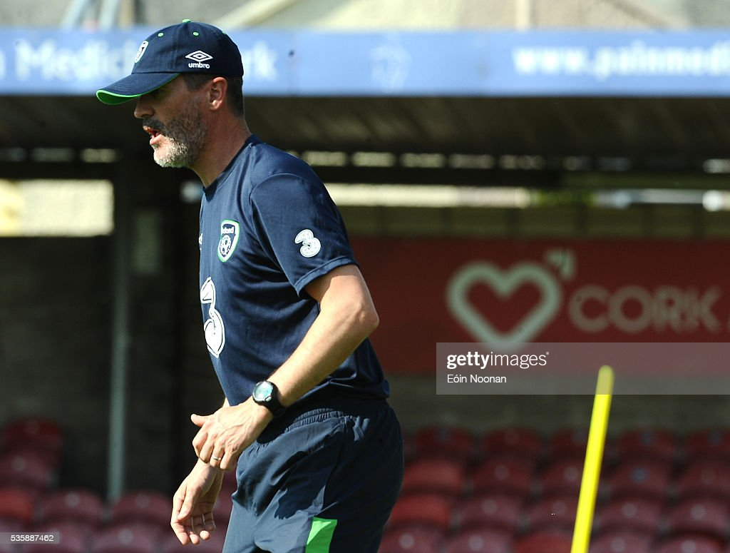Cork , Ireland - 30 May 2016; Republic of Ireland assistant manager Roy Keane during squad training in Turners Cross, Cork.