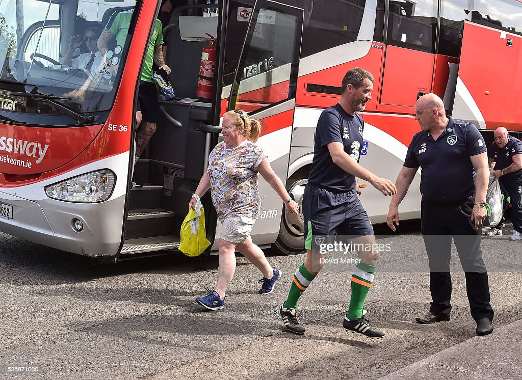 Cork , Ireland - 30 May 2016; <a gi-track='captionPersonalityLinkClicked' href=/galleries/search?phrase=Roy+Keane&family=editorial&specificpeople=171835 ng-click='$event.stopPropagation()'>Roy Keane</a> assistant manager of Republic of Ireland arriving for squad training in Turners Cross, Cork.