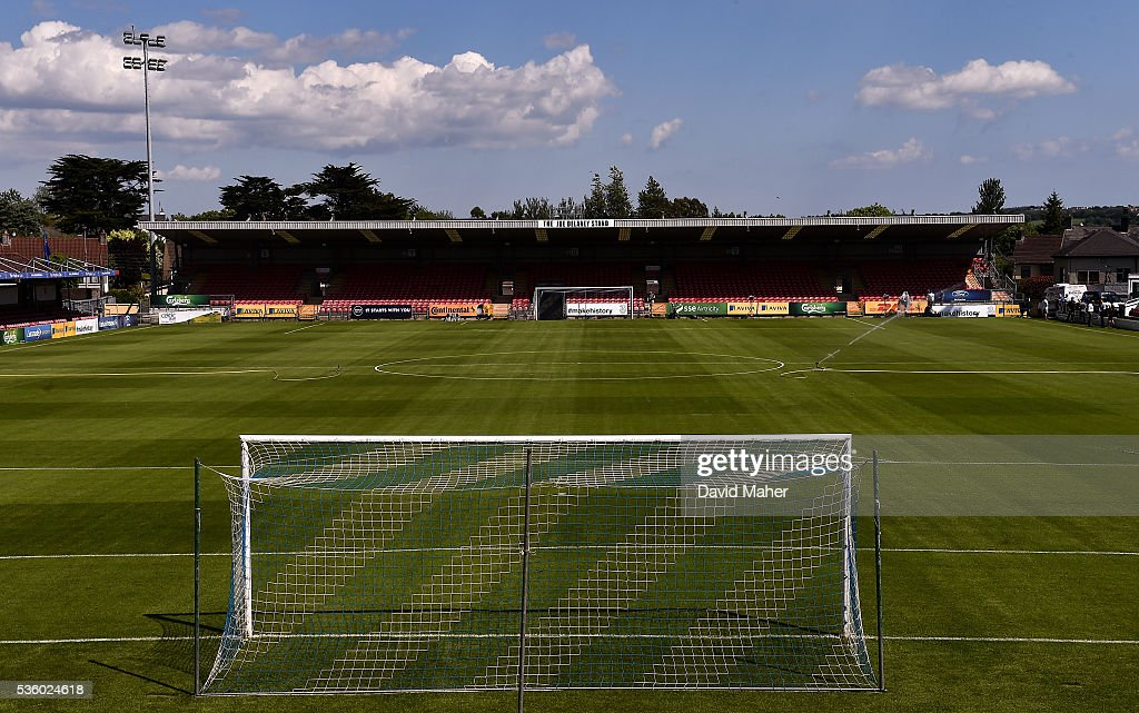 Cork , Ireland - 31 May 2016; A general view of Turners Cross before the EURO2016 Warm-up International between Republic of Ireland and Belarus in Turners Cross, Cork.