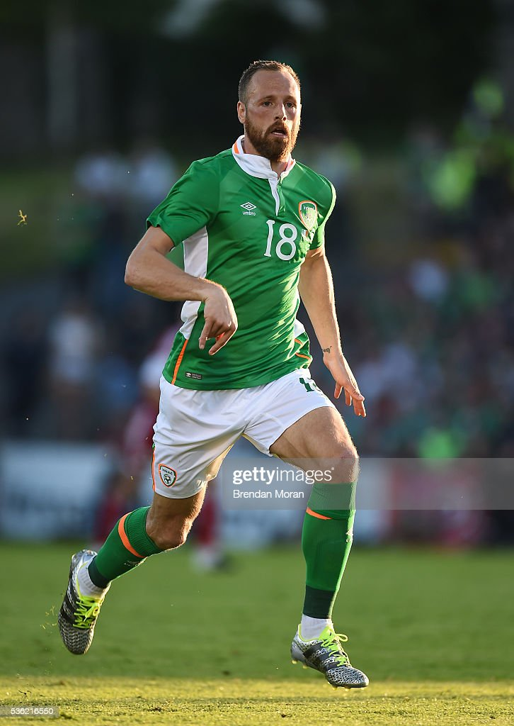 Cork , Ireland - 31 May 2016; <a gi-track='captionPersonalityLinkClicked' href=/galleries/search?phrase=David+Meyler&family=editorial&specificpeople=5472116 ng-click='$event.stopPropagation()'>David Meyler</a> of Republic of Ireland during the EURO2016 Warm-up International between Republic of Ireland and Belarus in Turners Cross, Cork.