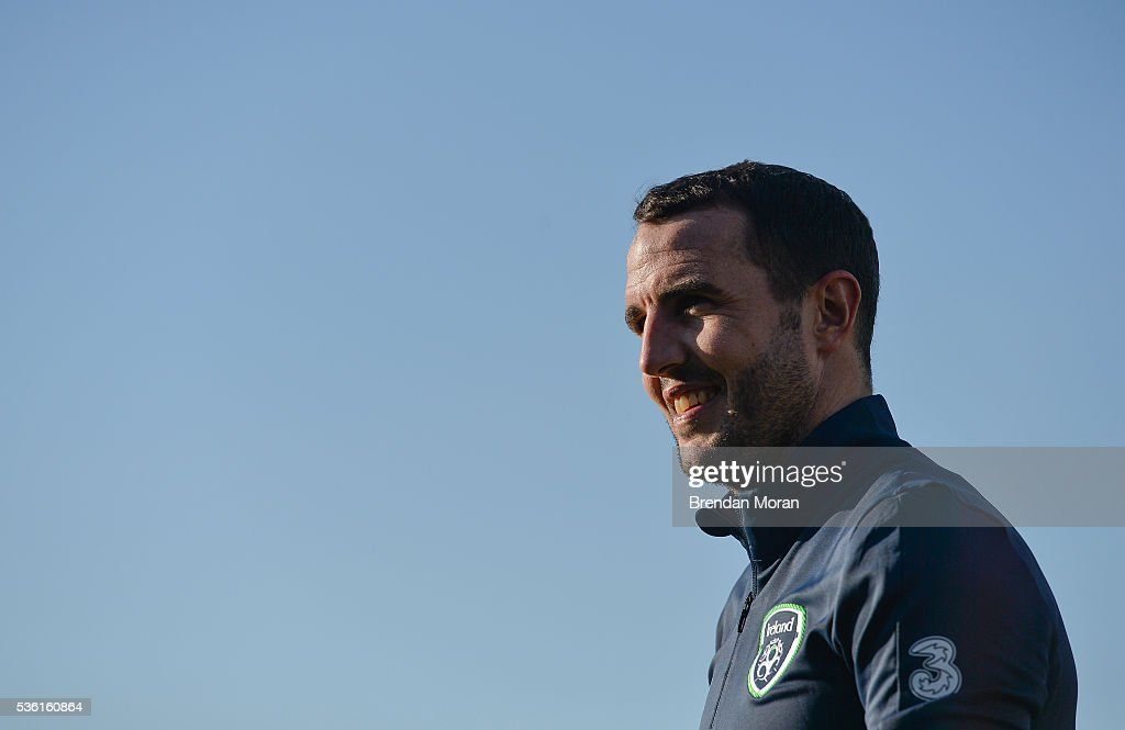Cork , Ireland - 31 May 2016; John O'Shea of Republic of Ireland during the EURO2016 Warm-up International between Republic of Ireland and Belarus in Turners Cross, Cork.