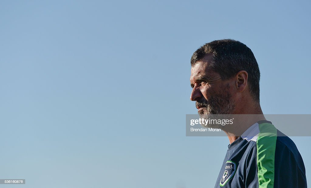 Cork , Ireland - 31 May 2016; Republic of Ireland assistant manager <a gi-track='captionPersonalityLinkClicked' href=/galleries/search?phrase=Roy+Keane&family=editorial&specificpeople=171835 ng-click='$event.stopPropagation()'>Roy Keane</a> ahead of the EURO2016 Warm-up International between Republic of Ireland and Belarus in Turners Cross, Cork.