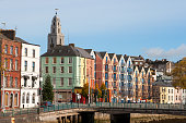St Patrick's Quay on the north channel of river Lee. Cork, Ireland