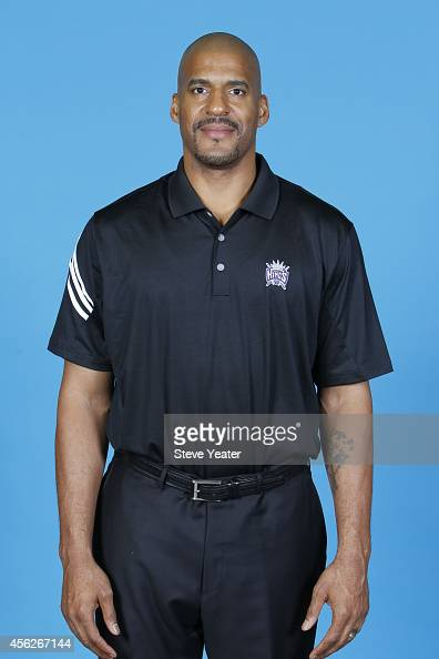 Corliss Williamson of the Sacramento Kings poses for a photo on media day September 26 2014 at the Kings practice facility in Sacramento California...