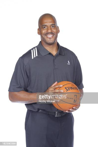 Corliss Williamson part of the Sacramento Kings coaching staff poses for a photo on media day September 30 2013 at the Kings practice facility in...