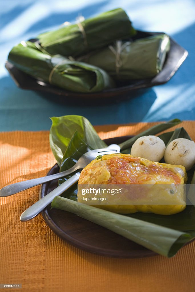 Corn and cheese tamale