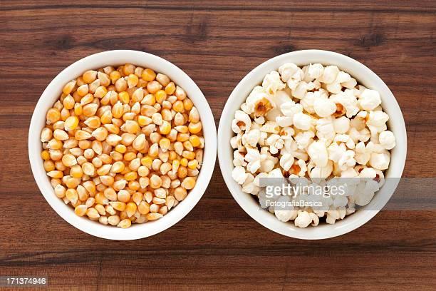 Corn and popcorn