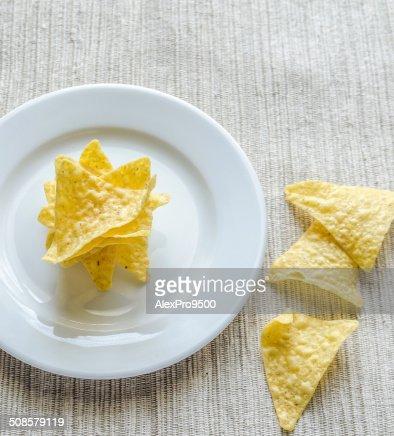 トウモロコシチップス : ストックフォト
