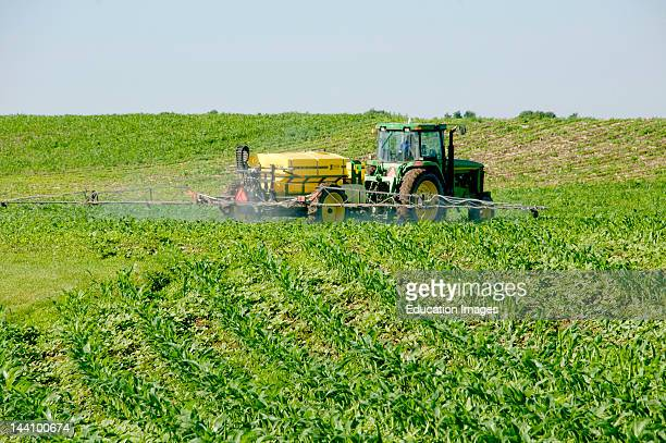 Corn Fertilizer Applicator Tractor Wisconsin
