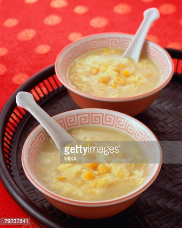 Corn Soup : Stock Photo