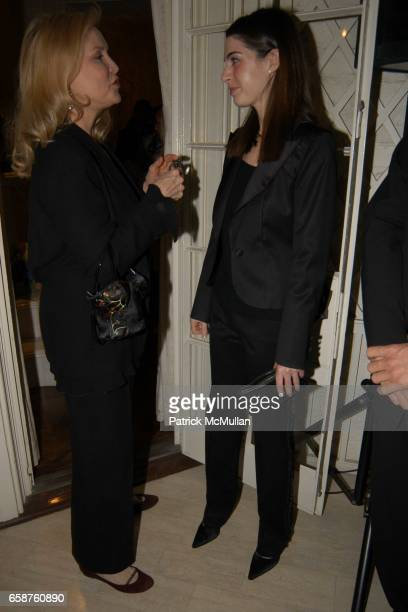 Cornelia Bregman and Amanda Goldberg attend Kathy and Rick Hilton's party for Donald Trump and 'The Apprentice' at the Hiltons' Home on February 28...