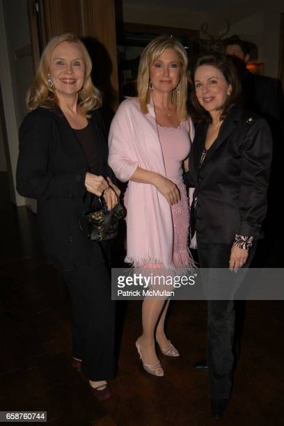 Cornelia Bregman Kathy Hilton and Wendy Goldberg attend Kathy and Rick Hilton's party for Donald Trump and 'The Apprentice' at the Hiltons' Home on...