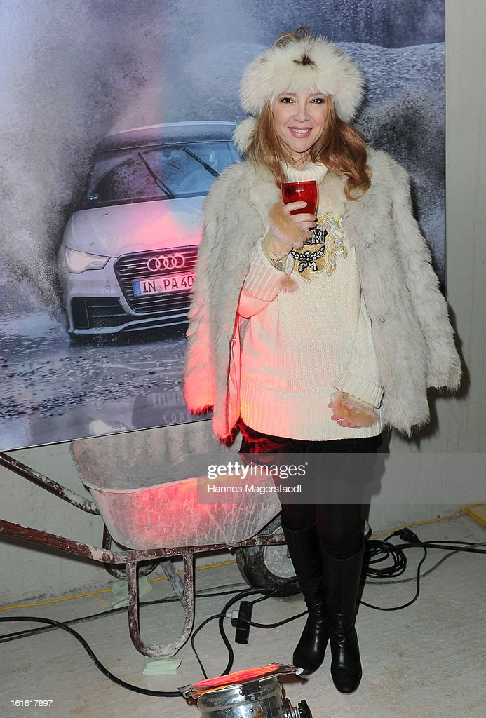Cornelia Corba attends the roofing ceremony at Audi second-hand car center on February 13, 2013 in Munich, Germany.