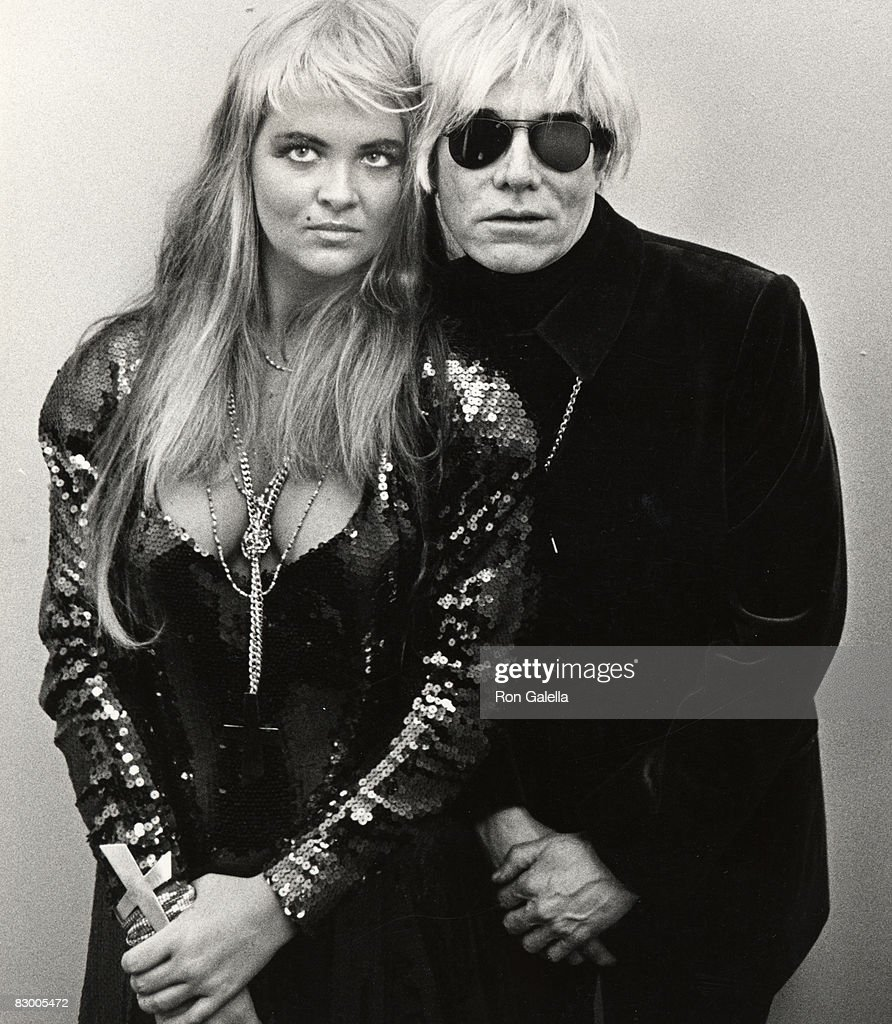 Cornelia Guest and Andy Warhol