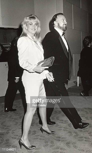 Cornelia Guest and Jack Haley Jr during American Film Institute Honors Gregory Peck at Beverly Hilton Hotel in Beverly Hills CA United States