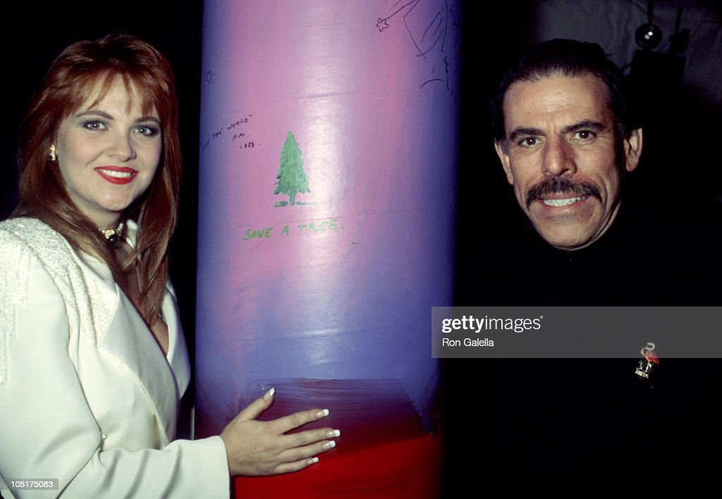 Cornelia Guest and Peter Max during The 7th Annual 'A Night of 100 Trees' Gala at Tavern On The Green in New York City New York United States