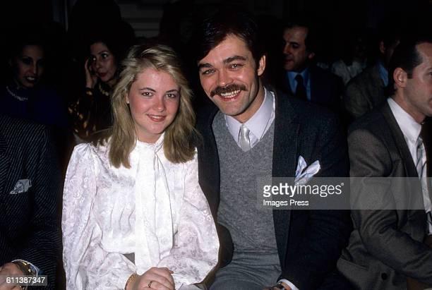 Cornelia Guest and Randy Jones circa 1983 in New York City