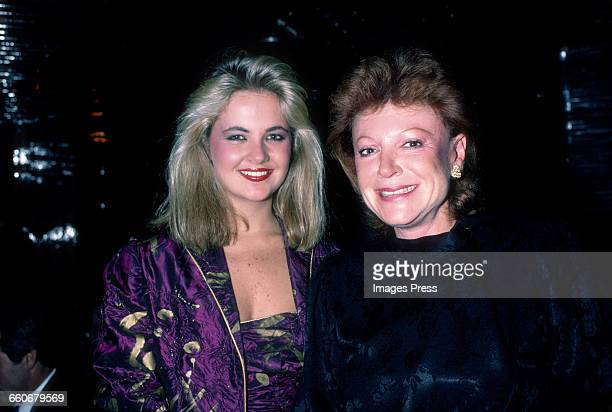 Cornelia Guest and Regine Zylberberg circa 1982 in New York City