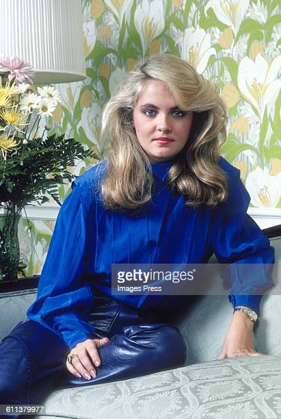 Cornelia Guest portrait session circa 1983 in New York City