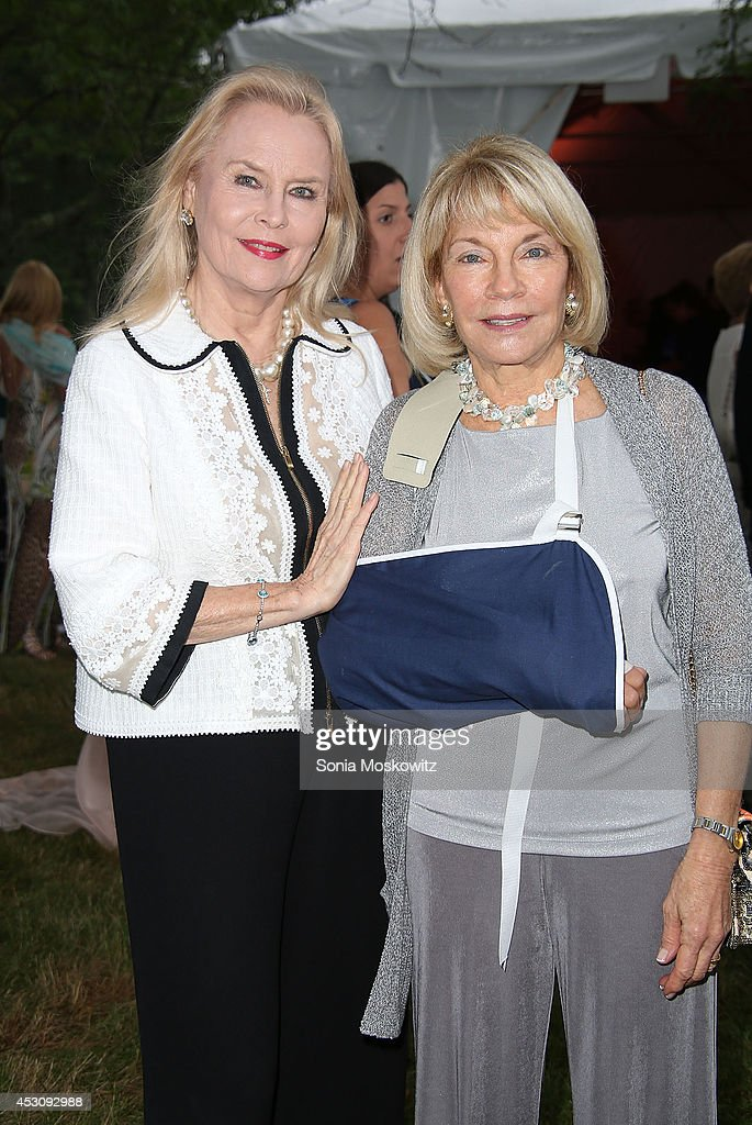 <a gi-track='captionPersonalityLinkClicked' href=/galleries/search?phrase=Cornelia+Sharpe&family=editorial&specificpeople=644388 ng-click='$event.stopPropagation()'>Cornelia Sharpe</a> Bregman and Kristi Witker attend the Southampton Hospital's 56th Annual 'Endless Summmer' party on August 2, 2014 in Southampton, New York.