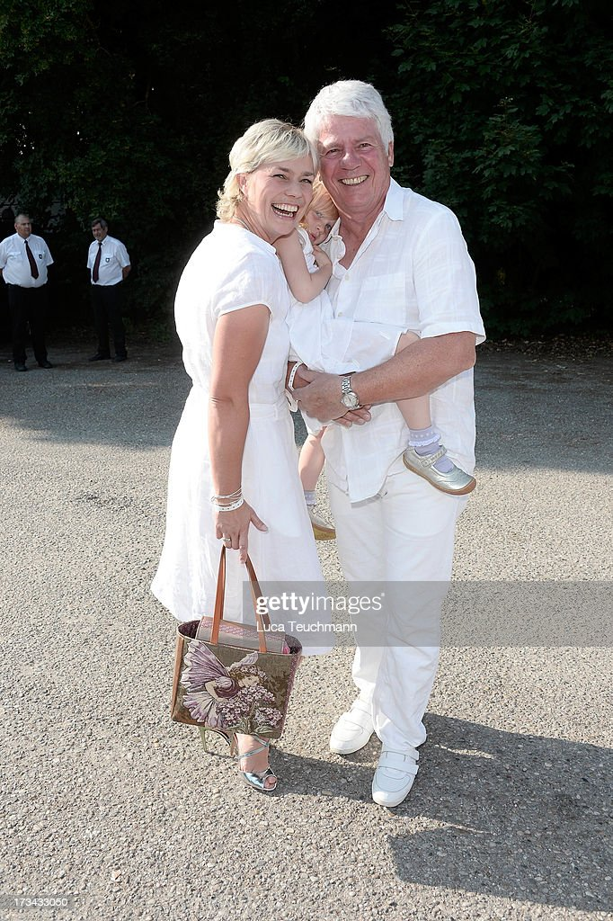Cornelia Stein and Thomas Stein attend the golf tournament 'Kaiser Cup 2013' at 'Hartl Golf-Resort' on July 13, 2013 in Bad Griesbach , Germany.