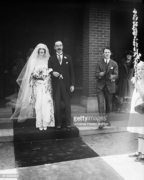 Cornelia Vanderbilt and John Cecil Wedding Day Asheville North Carolina USA April 29 1924
