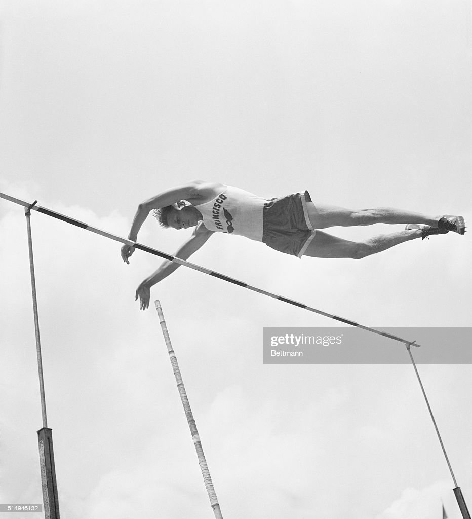 cornelius warmerdam pole vaulting pictures getty images