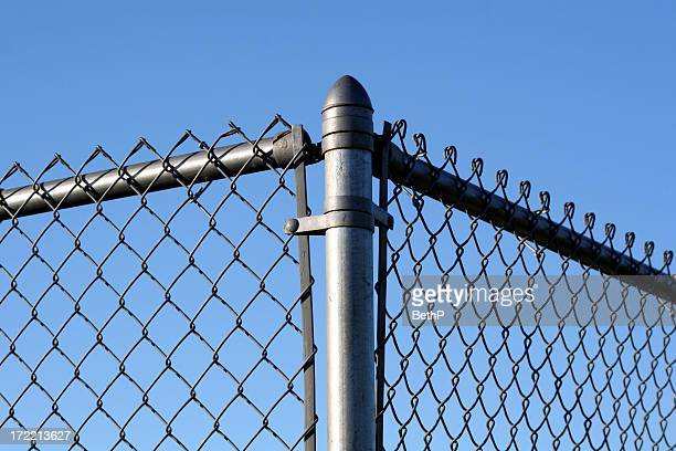 Corner of a fence
